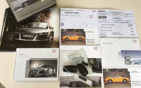 Audi  R8 4.2 FSI Quattro 420cv Véhicule ayant eu un entretien régulier, avec justificatifs.