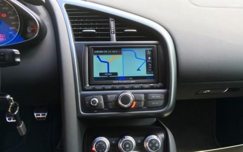 Audi  R8 4.2 FSI Quattro 420cv PNA : Système Audi GPS Plus Europe
