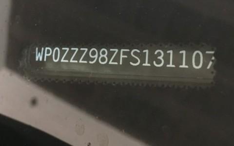 Porsche Boxster GTS PDK WP0ZZZ98ZFS131107