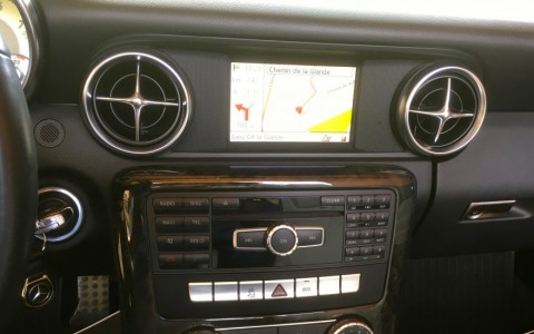 Mercedes SLK 200 BlueEfficiency 184cv GPS Europe avec kit main libre bluetooth