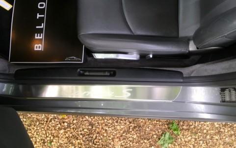 Porsche 997 Carrera S 3.8 355cv X70 : Seuils de porte en acier spécial