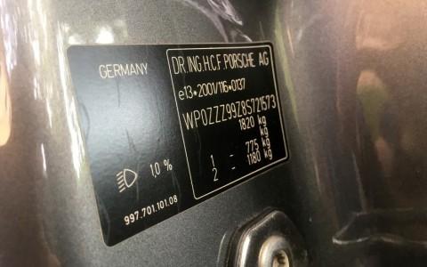 Porsche 997 Carrera S 3.8 355cv WP0ZZZ99Z8S721573