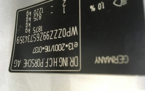 Porsche 997 Carrera 4S 3.8 355cv WP0ZZZ99Z6S734359