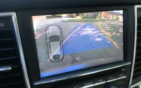 Porsche Panamera Turbo PDK 638 : Assistance parking avant & arrière avec caméra de recul