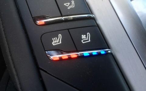 Porsche Cayenne GTS 3.6 440cv 4D3 : Ventilation des sièges à l'avant