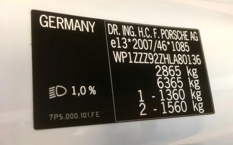 Porsche Cayenne GTS 3.6 440cv WP1ZZZ92ZHLA80136