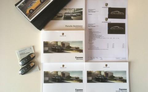 Porsche Cayenne GTS 3.6 440cv Véhicule avec certificat d'immatriculation Français et double de clés.