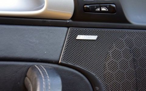 Porsche 997 Carrera 4S Cabriolet 355cv 680 : Bose Surround Sound-System (325 W - 12 HP).