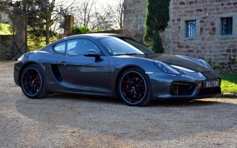 Porsche Cayman GTS PDK Vous habitez loin de Lyon ? Nous venons vous chercher à la gare ou à l'aéroport.