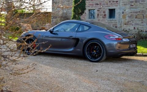 Porsche Cayman GTS PDK Feux arrière en verre fumé