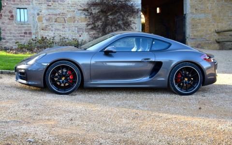 Porsche Cayman GTS PDK LM7S : Peinture métallisée Gris Quartz