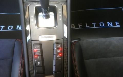 Porsche Cayman GTS PDK - Echappement Sport avec bouton sur la console centrale