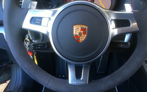 Porsche Cayman GTS PDK Volant SportDesign Alcantara (avec palettes pour PDK)