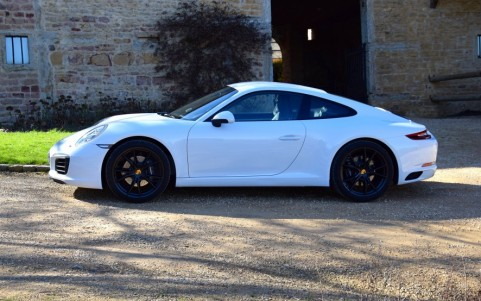 Porsche 991 Carrera PDK 3.0 370cv XDK : Jantes peintes en noire (finition satinée)