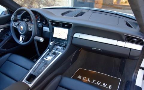 Porsche 991 Carrera PDK 3.0 370cv EKJ : Pack intérieur en aluminium brossé