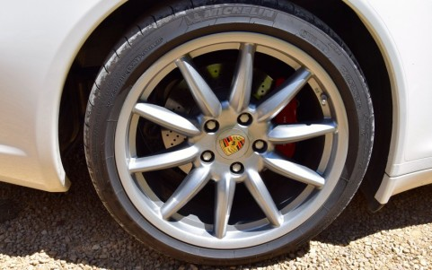 Porsche 997 Targa 4S 3.8 355cv XRR / XRN : Jantes Carrera Sport 19 pouces et élargisseurs de voie arrière 17 mm