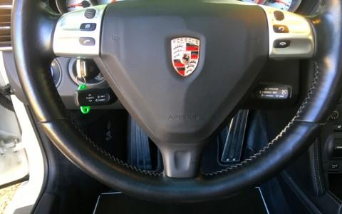 Porsche 997 Targa 4S 3.8 355cv 431 / 991 : Volant multifonctions Touch&Feel en cuir lisse