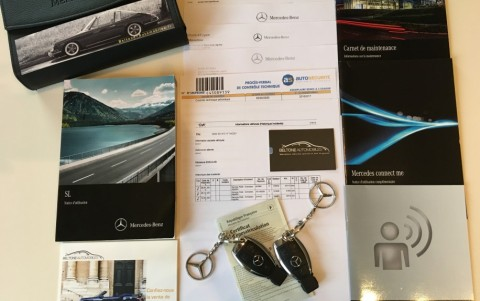 Mercedes-Benz SL 500 Executive 455cv Véhicule ayant bénéficié d'un entretien régulier, avec justificatifs