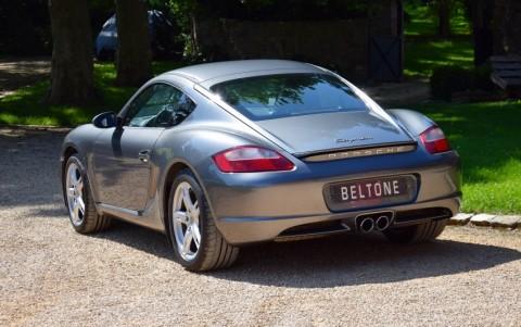 Porsche Cayman 987 2.7 245cv LM7W : Peinture métallisée Gris Météor